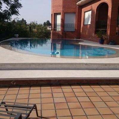 Obra piscina alginet