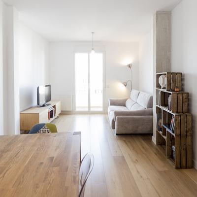 Reforma de una vivienda sencilla, funcional y luminosa