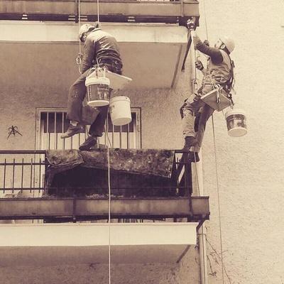 Reparacion y pintura de cantos de forjado, Madrid