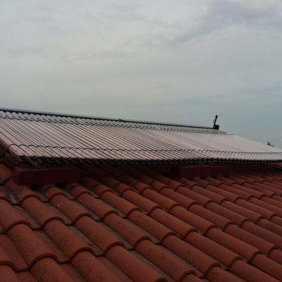 Instalación solar térmica de tubos de vació