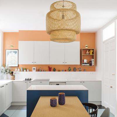 El espectacular cambio de esta cocina