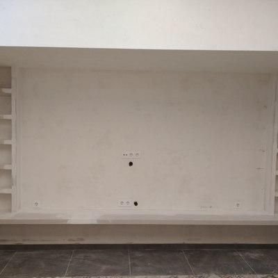 estanteria y mueble de pladur