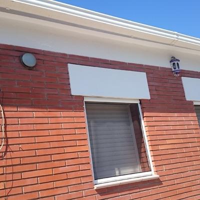 Reparacion de Aristas y Frontales de Casa unifamiliar en SILS ( GIRONA )