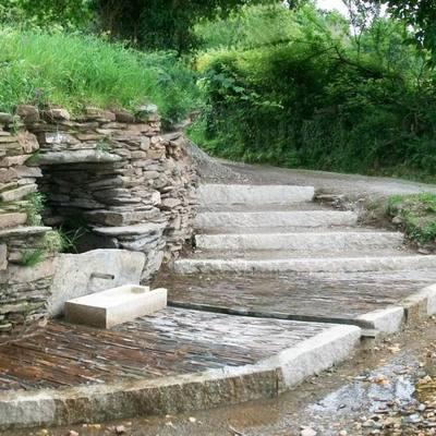 Fuente y puente