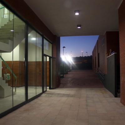 Galería de acceso a la recepción