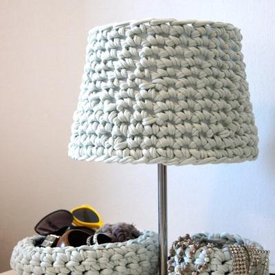 Ganchillo lámpara