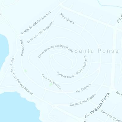 Ampliación Red Gas natural Santa Ponsa