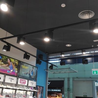 Iluminación de Tiendas en CC Parquesur y CC La Gavia
