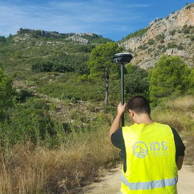 Levantamiento topográfico con drones de finca catastral