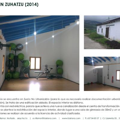 Gimnasio En Zuhatzu-Navarra