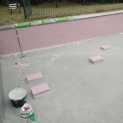 Rehabilitacion piscina de obra en calle Cirilo Tornos 1,Torrelodones