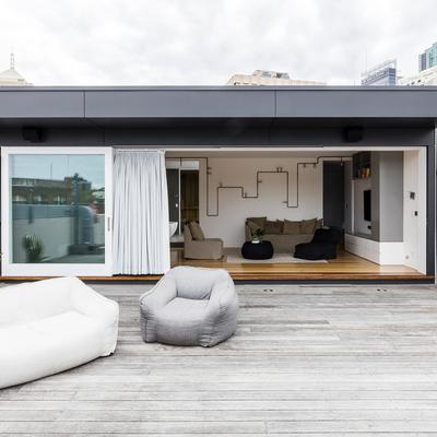 Una vivienda urbana, moderna y rompedora