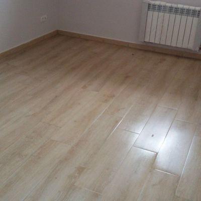 Limpieza de piso de obra de 90m2