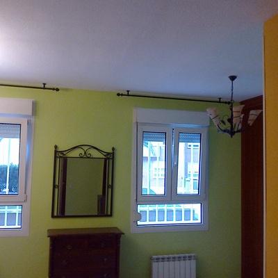Cambio de color en casa rural