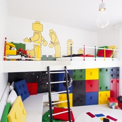 Habitación con lego
