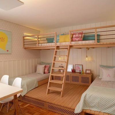 10 habitaciones infantiles que supieron aprovechar todo su espacio