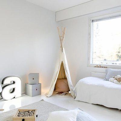 Consigue una habitación de estilo nórdico para tu bebé