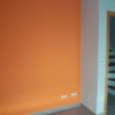 Pintado de habitacion en chalet