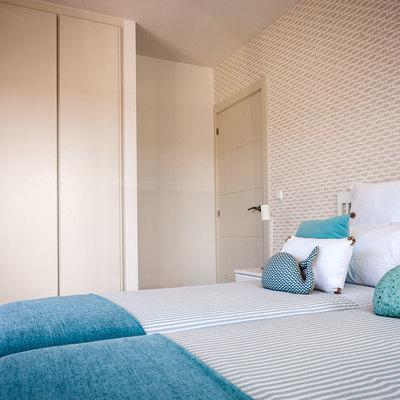 Habitación juvenil I con cama doble.