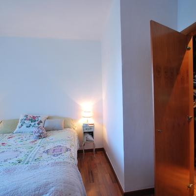 Habitacion matrimonio y vestidor de madera