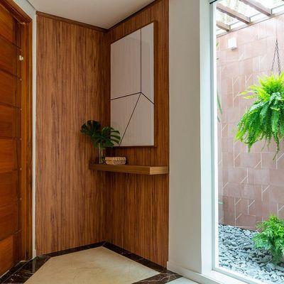 6 recibidores pequeños que supieron aprovechar cada centímetro