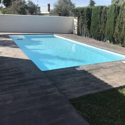 Rehabilitación de piscina10x5