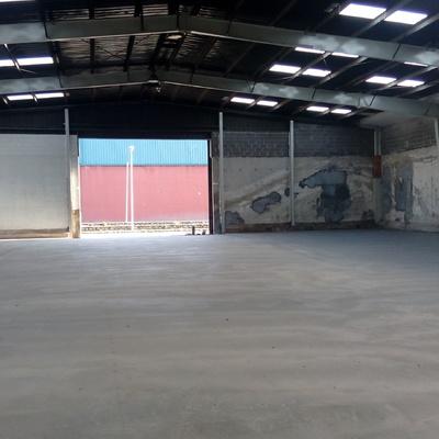 Reforma de suelo industrial. Rehabilitación de pavimento industrial. Hormigón semipulido.
