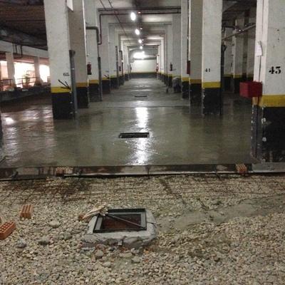 Reforma integral de garaje de una comunidad de propietarios en Madrid