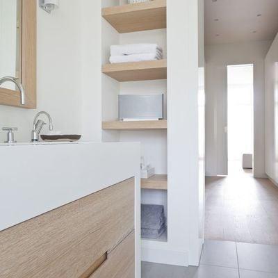 8 muebles auxiliares para el baño (DIY & obra)