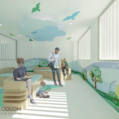Hospital Vithas - Diseño y Reforma Visual de Espacios Comunes