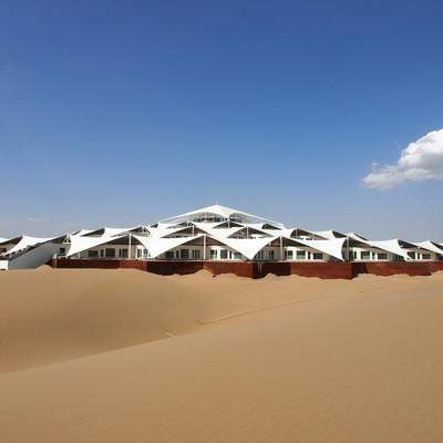 hotel en el desierto, china