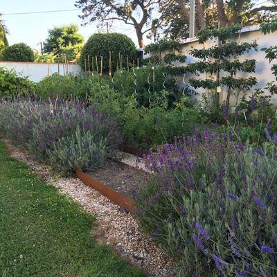 Jardín privado en Biarritz, Francia.