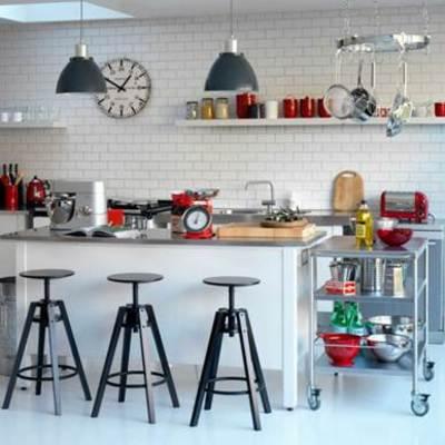 Idea que nos sirvió para la distribución y decoración de la cocina