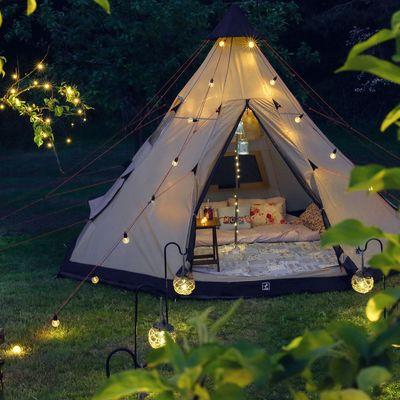 10 formas de tener estilo en un camping
