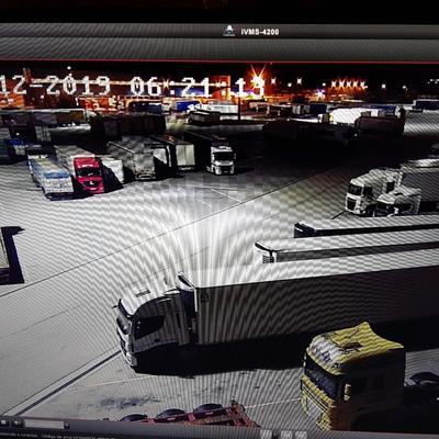Cambio alumbrado aparcamiento aduana CTBurgos