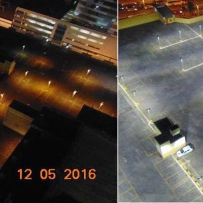 Proyecto luminotécnico para la mejora del alumbrado exterior en el Taguatinga shopping (Innovalux Brasil))