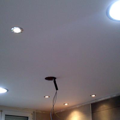 Iluminación cocina.