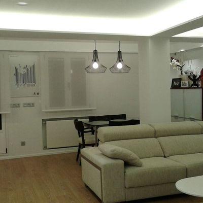 Iluminación de salón en led.
