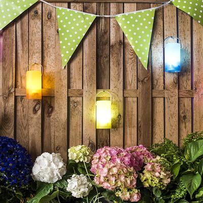 8 maneras de iluminar tu jardín o terraza