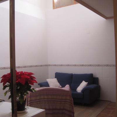 Apertura de patio interior en vivienda unifamiliar
