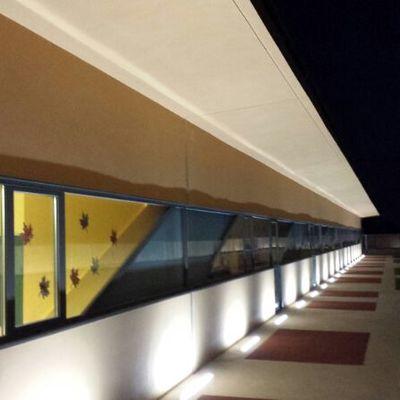 Iluminación patio Infantil