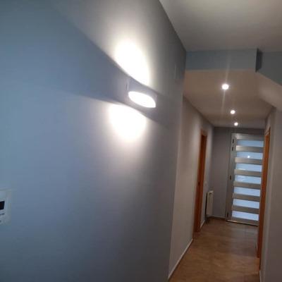 Instalación iluminación y calefacción en vivienda unifamiliar.