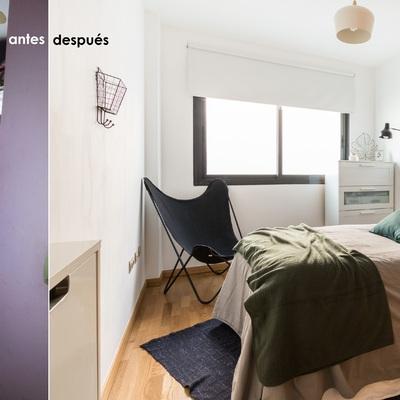 Home Staging para habitación de vivienda particular en Almería