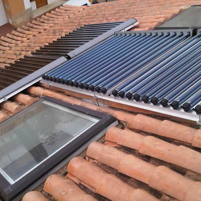 Instalación solar térmica para ACS y calefacción