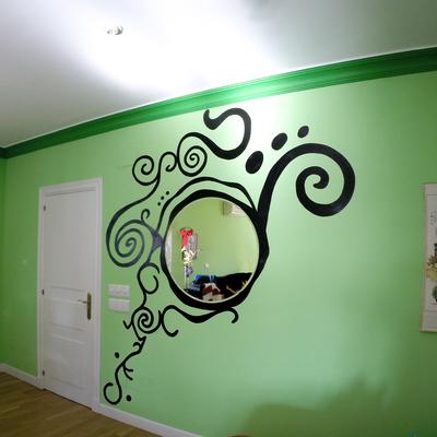 Pintura en habitación, Madrid
