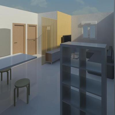 Propuesta de reforma de vivienda en 3D