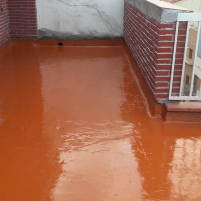 Rehabilitación e impermabilización de terraza
