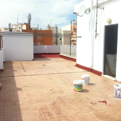 Impermeabilización de terraza o cubierta comunitaria