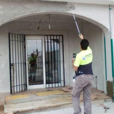 IMPERMEABILIAZACIÓN FACHADA CASA ALCAIDESA, URB. SANTA MARGARITA