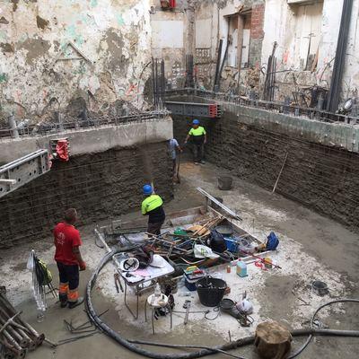IMPERMEABILIZACIÓN LOSA CIMENTACIÓN CONSTRUCCIONES ALCONSA S.L. (CÁDIZ)